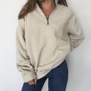 [Tommy Bahama] vintage quarter-zip sweater